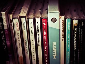Verkoop cd's en dvd's